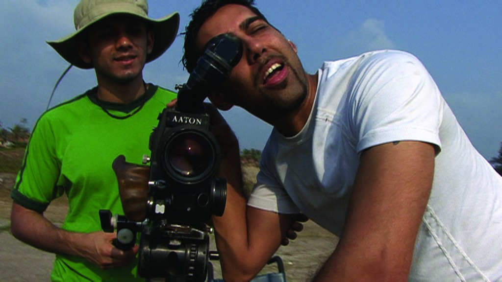 #3 - Director Jason DaSilva at work. From WHEN I WALK, a Long Shot Factory Release 2013