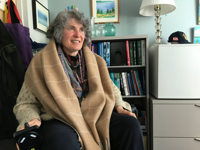 Lisa Iezzoni is professor of medicine at Harvard. She has multiple sclerosis and researches disparities in health care for people with disabilities.