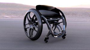 Phoenix Ai is an ultra-lightweight, self-balancing, smart wheelchair