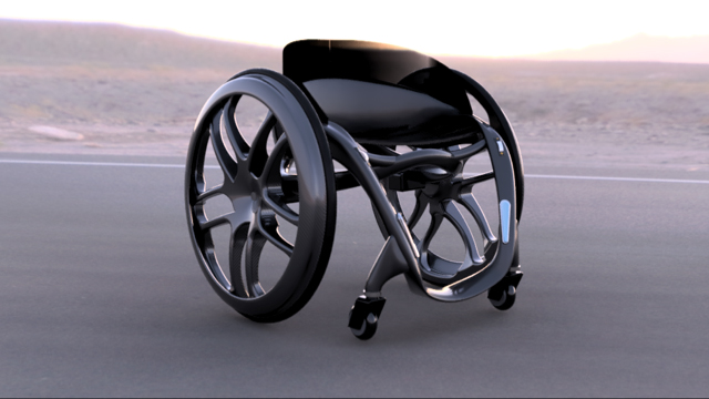 Phoenix Ai is an ultra-lightweight, self-balancing, smart wheelchair