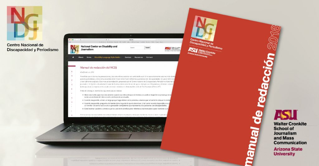 NCDJ NCDJ, National Center on Disability and Journalism, Disability Language Style Guide, Spanish